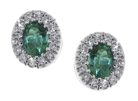 Diamonds ct 0,11 Emerald ct 0,27