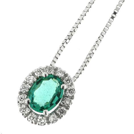 Diamonds ct 0,07 Emerald ct 0,35 Primary tabs