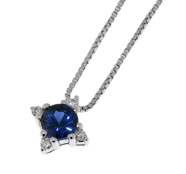 Diamonds ct 0,04 Sapphire ct 0,36
